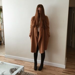 """Jackets & Blazers - Fleece """"Lion"""" Coat Oversized Small- Fitted Large"""